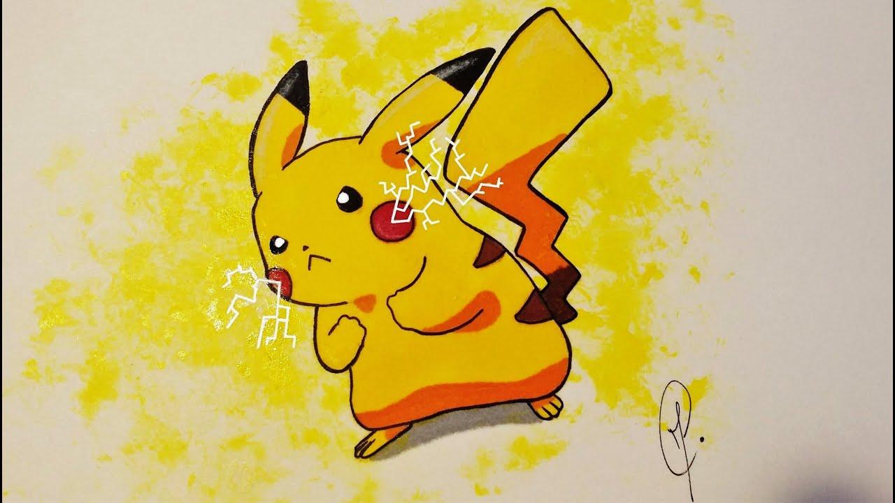 Dibujos De Pokemon A Color: Pokemon Pikachu
