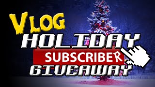 Holiday Game Giveaway - Closed