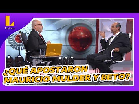 🔴 Mauricio Mulder Apostó: ¿cuántos Congresistas Obtendrá El Partido Aprista?