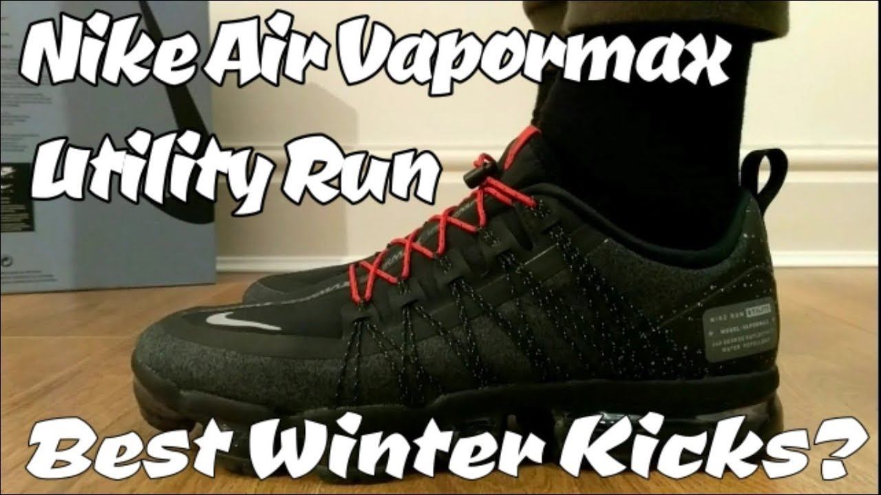 NIKE AIR VAPORMAX UTILITY RUN on feet, unboxing, weight, comfort and breath ability review