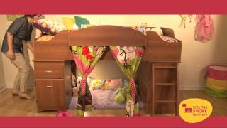 All The Features And Benifits Of The South Shore Furniture's Imagine Loft Bed.