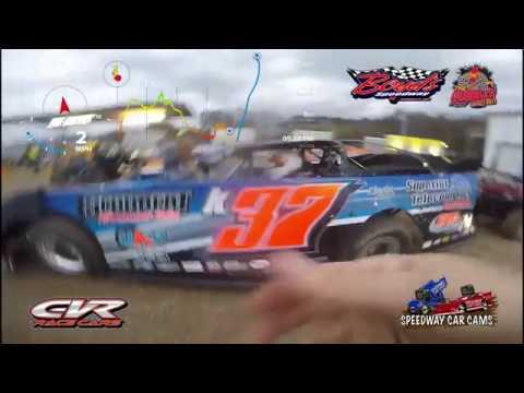 #K37 Drew Kennedy - Crate Late Model - 11-18-17 Boyd's Speedway - In Car Camera