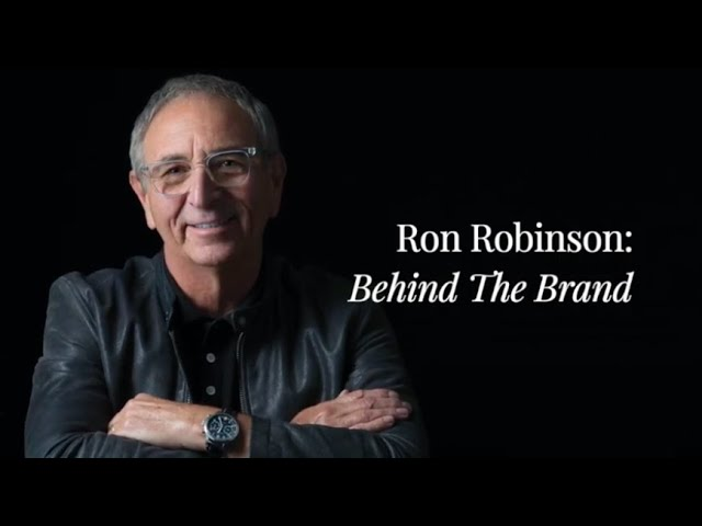 Behind the Brand: Ron Robinson, LA's Pioneer of Style, Now Masters the Fragrance World, Online!