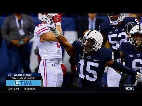 Instant Legend: Grant Haley | Penn State | Big Ten Football | BTN Tailgate