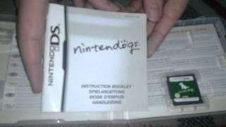 Nostalgamer Unboxes Nintendogs Labrador Retriever And Friends On Nintendo Ds Uk Pal System Version