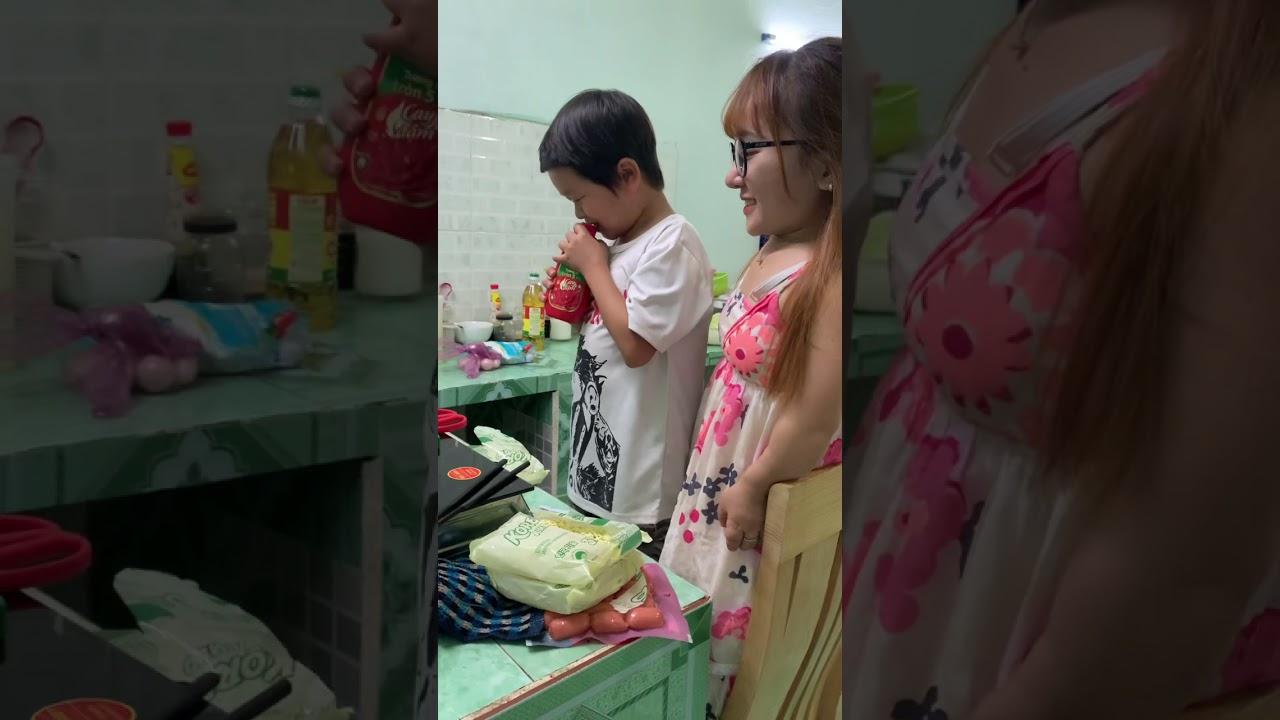 Huy Tí Hon Nấu Mì Cho Ut Mini