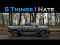 5 Things I HATE About My 2017 Ram 2500 Cummins