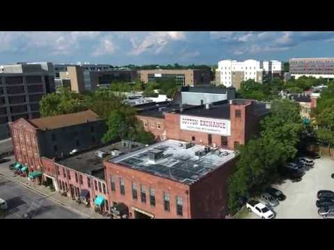 Historic Downtown Wilmington Drone