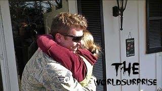 Airman Surprises Parents After Seven Months Abroad