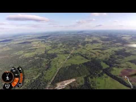 Overflying Gonzales, Texas