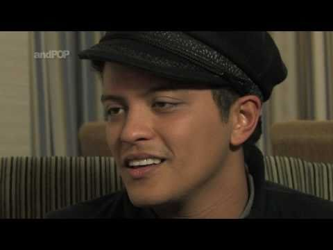"Bruno Mars Interview - His real life inspiration behind ""Just The Way You Are"""