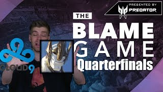 THE BLAME GAME | Worlds Quarterfinals 2: C9 Draft Mistakes & FNC drafts draft draft draft