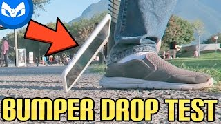 iPhone 7 PLUS CAE EN CONCRETO DROP TEST CON BUMPER !