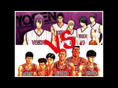 NBA2K Shohoku (Slam Dunk) VS Yosen High(Kuroko No Basket)