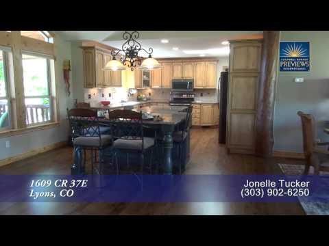 1609 CR 37E, Lyons, Colorado, Luxury Mountain Estate for Sale