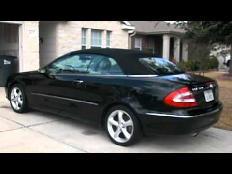 mercedes clk 320 convertible youtube. Black Bedroom Furniture Sets. Home Design Ideas