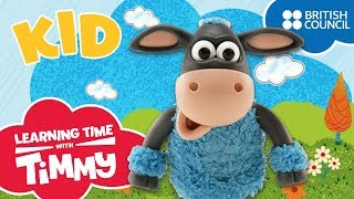 Meet Kid | Learning Time with Timmy | Cartoons for Kids