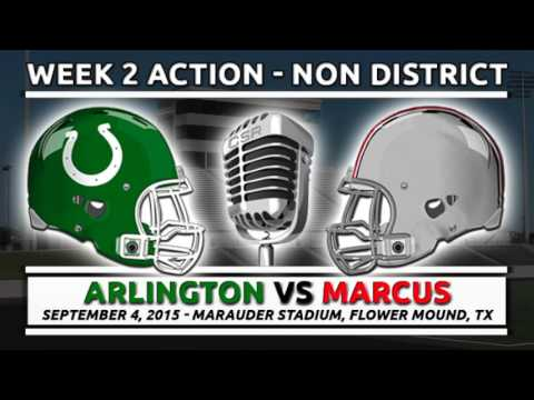 9/4/15: Marcus vs Arlington