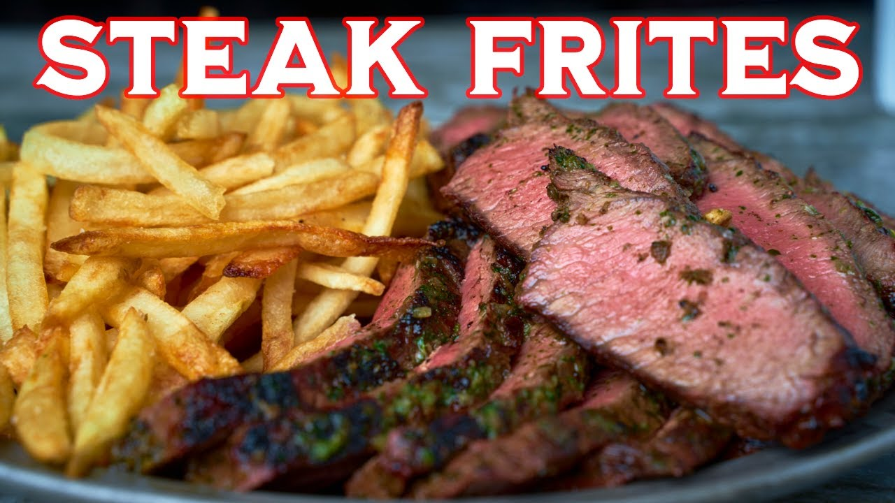 Steak Frites | Steak and Fries | Meat and Taters