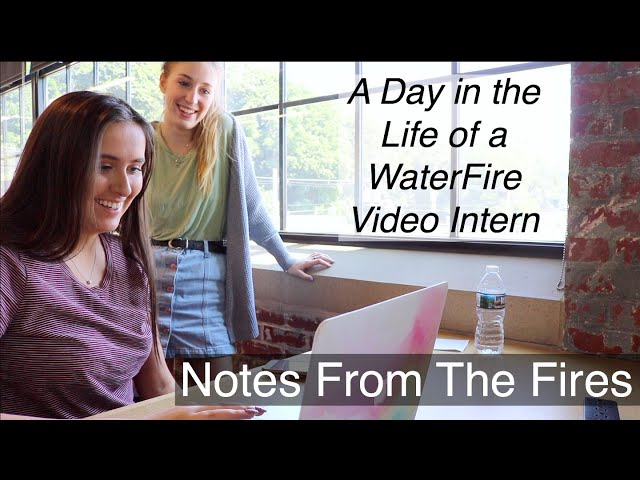 A Day in the Life of a WaterFire Video Intern: EP 7, Notes From The Fires