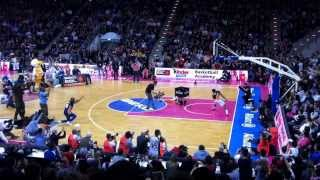 Will Clyburn Dunk @ Beko BBL All-Star Game 2014