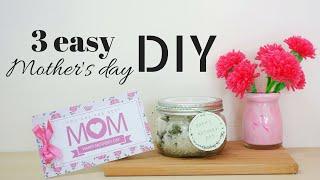 3個簡單輕鬆上手的母親節手作禮物DIY/ 3 easy DIY for mother's day | 安妮,手作吧!