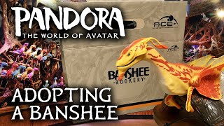 Adopting a Banshee from the Rookery - Pandora: The World of AVATAR at Disney's Animal Kingdom