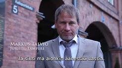 Lassi Kaleva, eduskuntavaalit 2019, tv-mainos, juristi