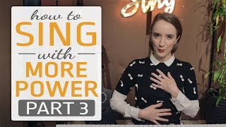 How to sing with more power, Part 3 of 3 - Dynamics