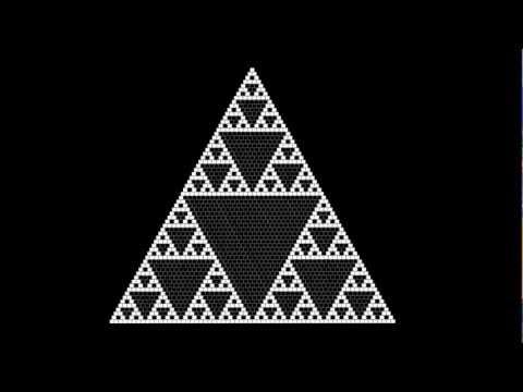 Pascal's Triangle into Sierpinski Triangle