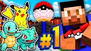 NEW ADVENTURE! - MINECRAFT POKEMON GO #1