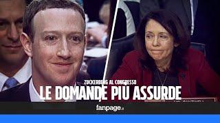 Le domande più assurde fatte dal Congresso a Zuckerberg
