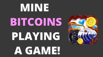 HOW TO MINE BITCOINS BY PLAYING A FUN GAME!! {PROOF!!}