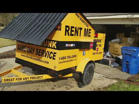 How to deliver a dumpster for Junk removal in Slidell, La and get a Customer Testimonial