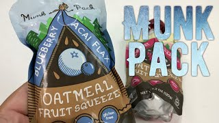 Blueberry Acai Oatmeal Fruit Squeeze Munk Pack Snack