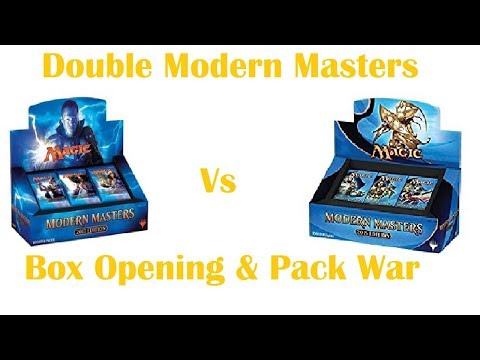 MtG Box Opening - Modern Masters 2015 and Modern Masters 2017 - Best Rare Takes All