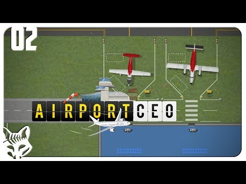 Accepting Our First Airlines! | Let's Play Airport CEO Part 2 Gameplay | Airport Tycoon Management