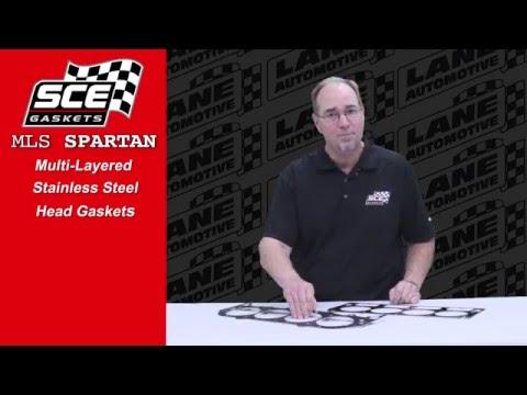SCE Gaskets - MLS Spartan Multi-Layer Stainless Steel Head Gasket