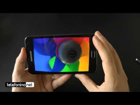 Samsung Galaxy Note videoreview da Telefonino.net