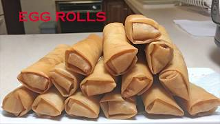 How to make Vietnamese Crispy Egg Rolls for a long time - Instant Pot