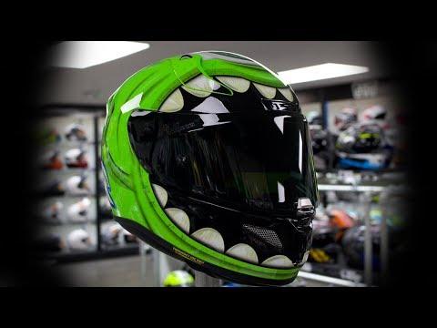 HJC RPHA 11 Mike Wazowski Helmet