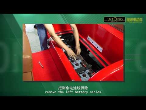 Hướng dẫn thay pin ô tô điện LVTONG