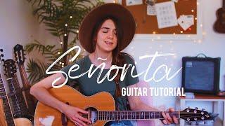 Baixar Señorita - Shawn Mendes + Camila Cabello   Guitar Tutorial