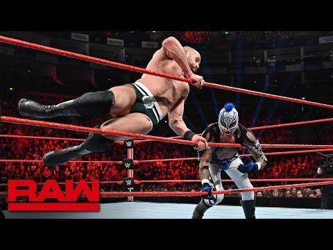 Rey Mysterio vs. Cesaro: Raw, May 13, 2019