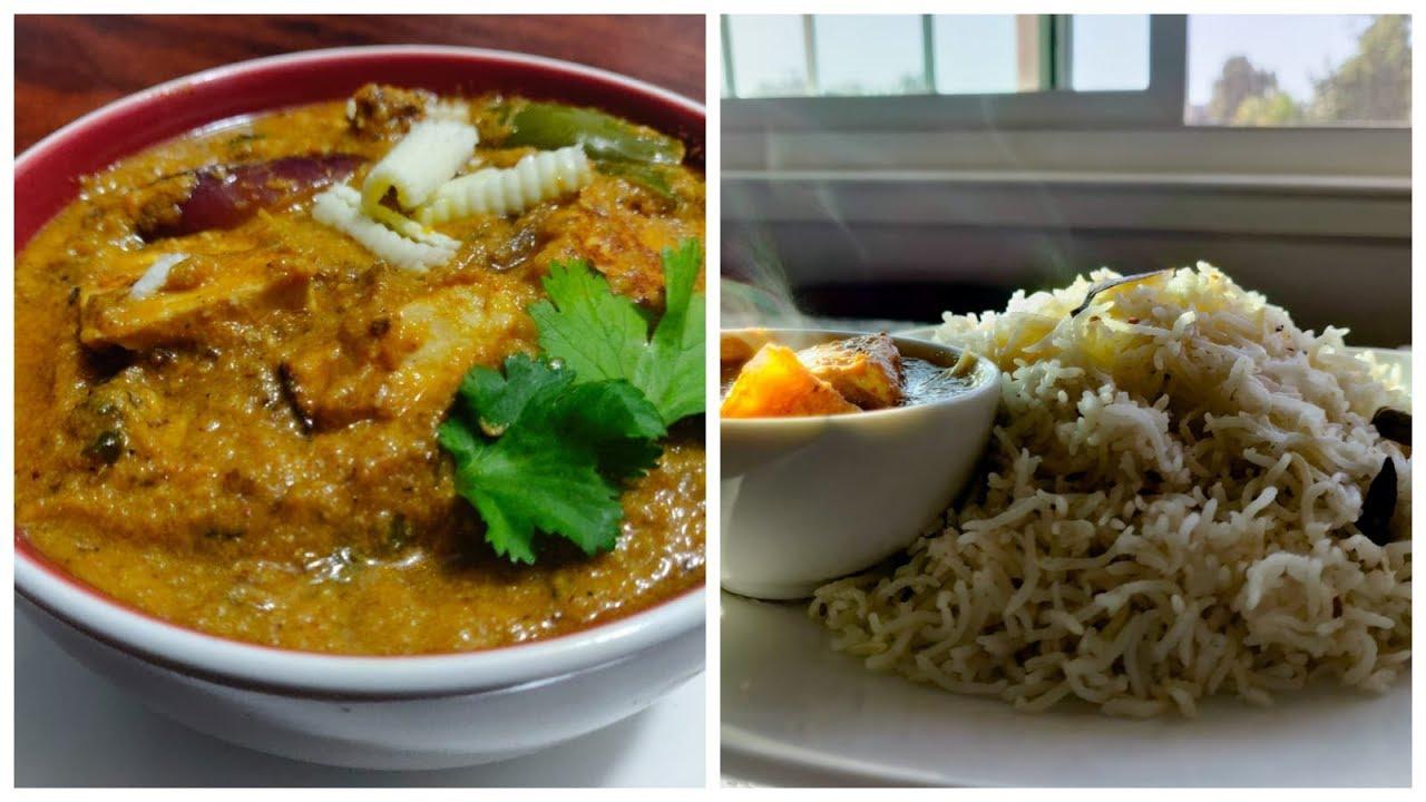 How to make super yummy Jeera Rice and Paneer tikka masala ...