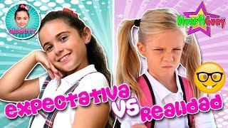 (*) 🚌 EXPECTATIVA vs REALIDAD vuelta a CLASES 🤓 Regreso a la ESCUELA thumbnail