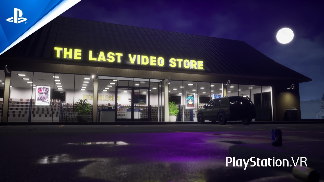 The Last Video Store  - Announcement Trailer | PS VR