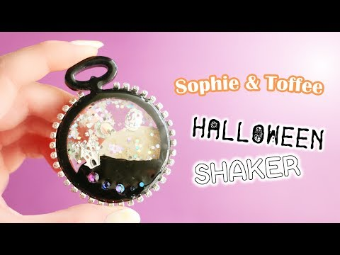Halloween Shaker Charm Sophie & Toffee Subscription Box September 2019