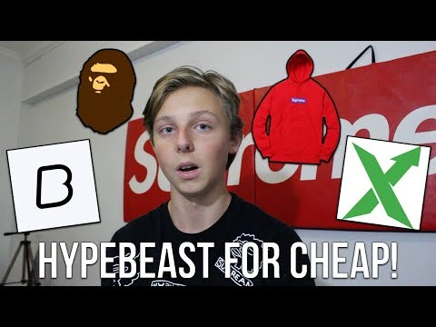 HOW TO BUY HYPED STREETWEAR FOR CHEAP! (Supreme, Bape, Palace, Off White, And More)