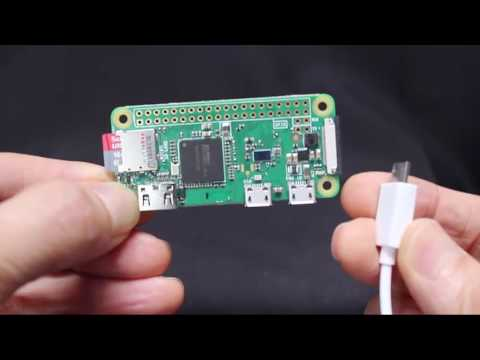 Getting Started with the $10 Raspberry Pi Zero W Computer